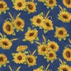 Benartex Accent on Sunflowers Sunflower Dance Blue