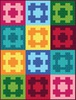 Gemstone Chain Link Free Quilt Pattern