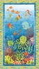 Northcott Stonehenge Kids Undersea 3D Panel
