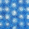 Anthology Fabrics Sky Batik Burst Blue