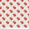 Riley Blake Designs Harry and Alice Go To The Sea Small Floral Red