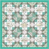 Roam Sweet Home Cozy Camping Teal Free Quilt Pattern