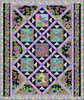 Rainbow Flight (Purple) Free Quilt Pattern