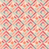 Clothworks Fresh Meadow Kaleidoscope Light Coral