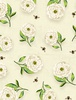 Wilmington Prints Floral Serenade Peony Cream