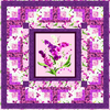 Orchid Fancy Free Quilt Pattern