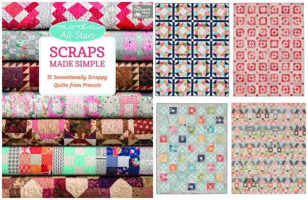 Moda All Stars:  Scraps Made Simple by Martingale Publishing