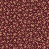 Maywood Studio Burgundy and Blush Vintage Calico Burgundy