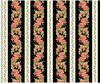 Maywood Studio Sommersville Gladiolus Stripe Black