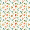Wilmington Prints Roots of Love Small Floral Ivory