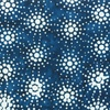 Anthology Fabrics Sky Batik Burst Navy