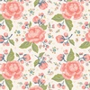 Riley Blake Designs Charmed Large Floral Cream