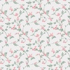 Camelot Fabrics The Wisteria Collection Swirly Blossoms Pink