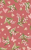 Maywood Studio Sensibility Lilies and Butterflies Pink