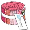 Sweet Caroline (Bright Pink) Strip Roll by Quilting Treasures