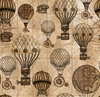 Blank Quilting Unknown Voyage Hot Air Balloons