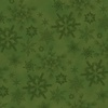 Henry Glass Woodland Haven Flannel Snowflakes Green