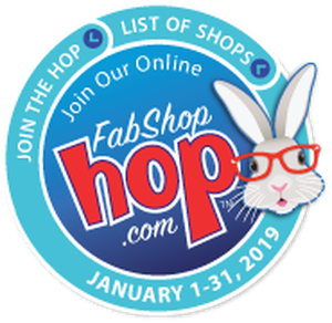 January 2019 Shop Hop Bunny
