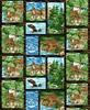 Studio E Fabrics Mosaic Forest Blocks