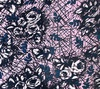 Northcott Banyan Batiks Rough Sketch Roses Blue Blush
