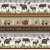 Henry Glass Woodland Haven Flannel Border