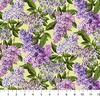 Northcott Chelsea Lilacs Pale Green