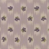 Moda Sweet Violet Gingham and Floral Ivory and Lilac