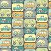 Windham Fabrics Road Trippin Transport Charcoal