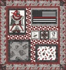 Thin Red Line II Free Quilt Pattern