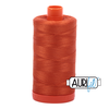 Aurifil Thread Rusty Orange