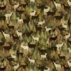 Benartex Lodge Life Camo Deer Moss