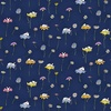 Clothworks Daisy Daisy Mouse Light Navy