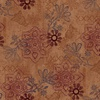 Henry Glass Fabrics Scrap Happy Mixed Media Multi Rust