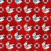 Studio E Fabrics A Whale Of A Time Seagulls Red