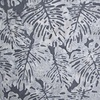 Northcott Banyan Batiks Boho Beach Leaves Dark Grey