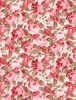 Wilmington Prints Rhapsody In Reds Tonal Floral Light Pink