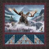 Call Of The Wild - Majestic Moose Free Quilt Pattern