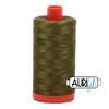 Aurifil Thread Very Dark Olive