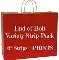 "End of Bolt Variety Strip Pack - 6"" PRINTS"