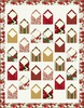 Winter Blooms - Holiday Greetings Free Quilt Pattern