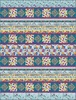 Autumn Hues Blue Free Quilt Pattern