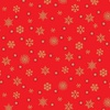 Andover Fabrics Twelve Days of Christmas Snowflake Red
