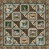 Wild Thing Cabin In The Woods Free Quilt Pattern