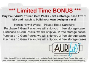 Aurifil Storage Box Bonus