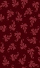 Maywood Studio Ruby Scroll Leaf Red