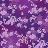 Hoffman Fabrics Graceful Garden Floral Bouquet Fuchsia/Gold