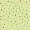 Andover Fabrics Bloom Floral Scatter Green