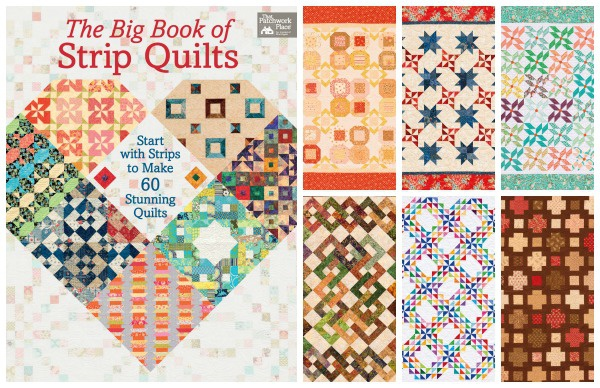 The Big Book of Strip Quilts by Martingale Publishing