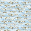 Henry Glass Coastal Paradise Birds Blue