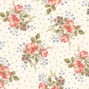 Windham Fabrics Annie Floral Clusters Linen White